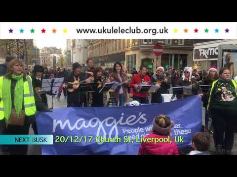 UCL WINTER BUSK TOUR 2016: Maggies Centres