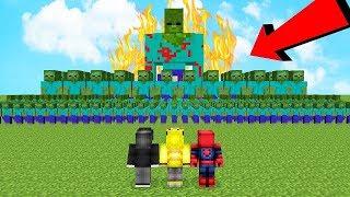 Minecraft ISMETRG vs 1000 TANE ORDU 1 Saat!