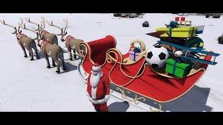 GTA 5 Santa Claus - Ông già Noel đi phát kẹo đồng mùa lễ giáng sinh | ND Gaming