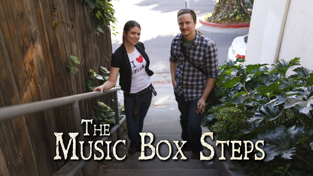 Exploring The Laurel And Hardy Music Box Steps Youtube