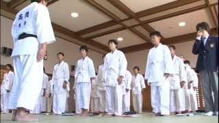 「中学校柔道DVD」教科指導教材 (Judo guidance Teaching materials) Part1