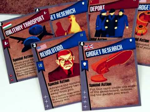 1955:The War of Espionage Board Game