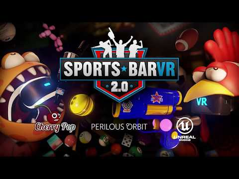 Sports Bar VR 2.0 Gameplay Trailer