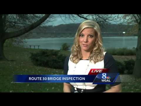 Route 30 bridge undergoing major inspection