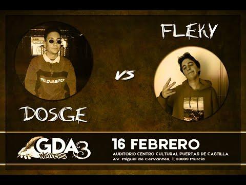 #GDAwriters3 DOSGE vs FLEKY Batalla Escrita Gallos de Artillería