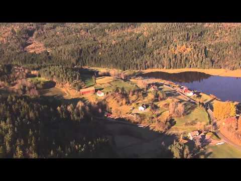 Audnedal Kommune - en lengre presentasjon og en flytur gjennom dalen.