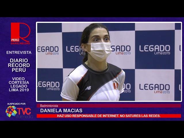 #VideoCortesía | Daniela Macías, badmintonista, de regreso a los entrenamientos
