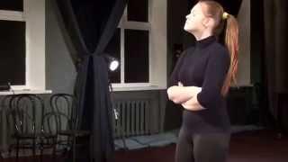Актёрское мастерство обучение - отработка этюда с