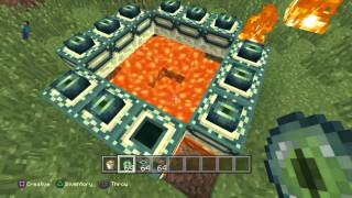 Minecraft - Building End Portal & Ender Dragon - For Kids by Kids