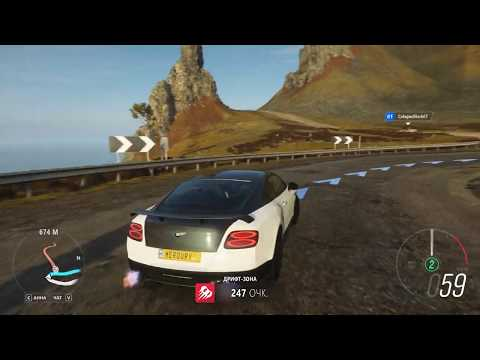 2020 NEW Bentley Continental Supersports Геймплэй. 1080p 60 FPS. Forza Horizon 4.