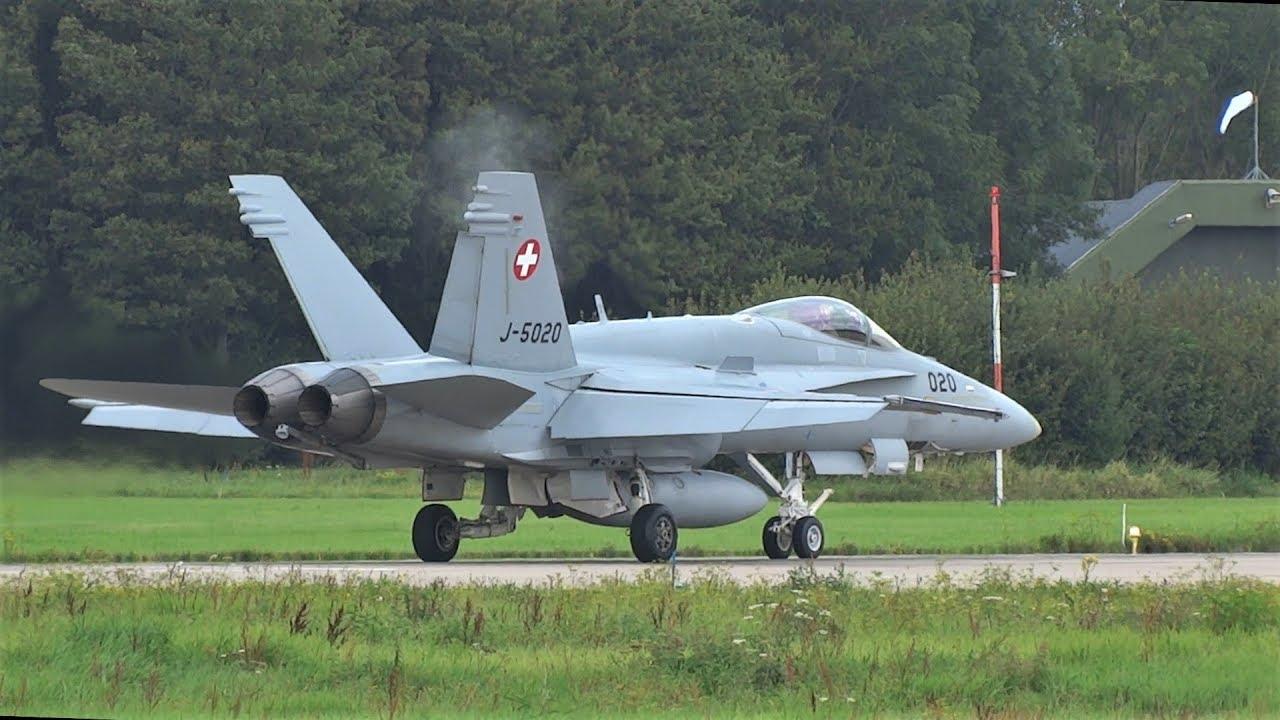 İsviçre F/A-18C