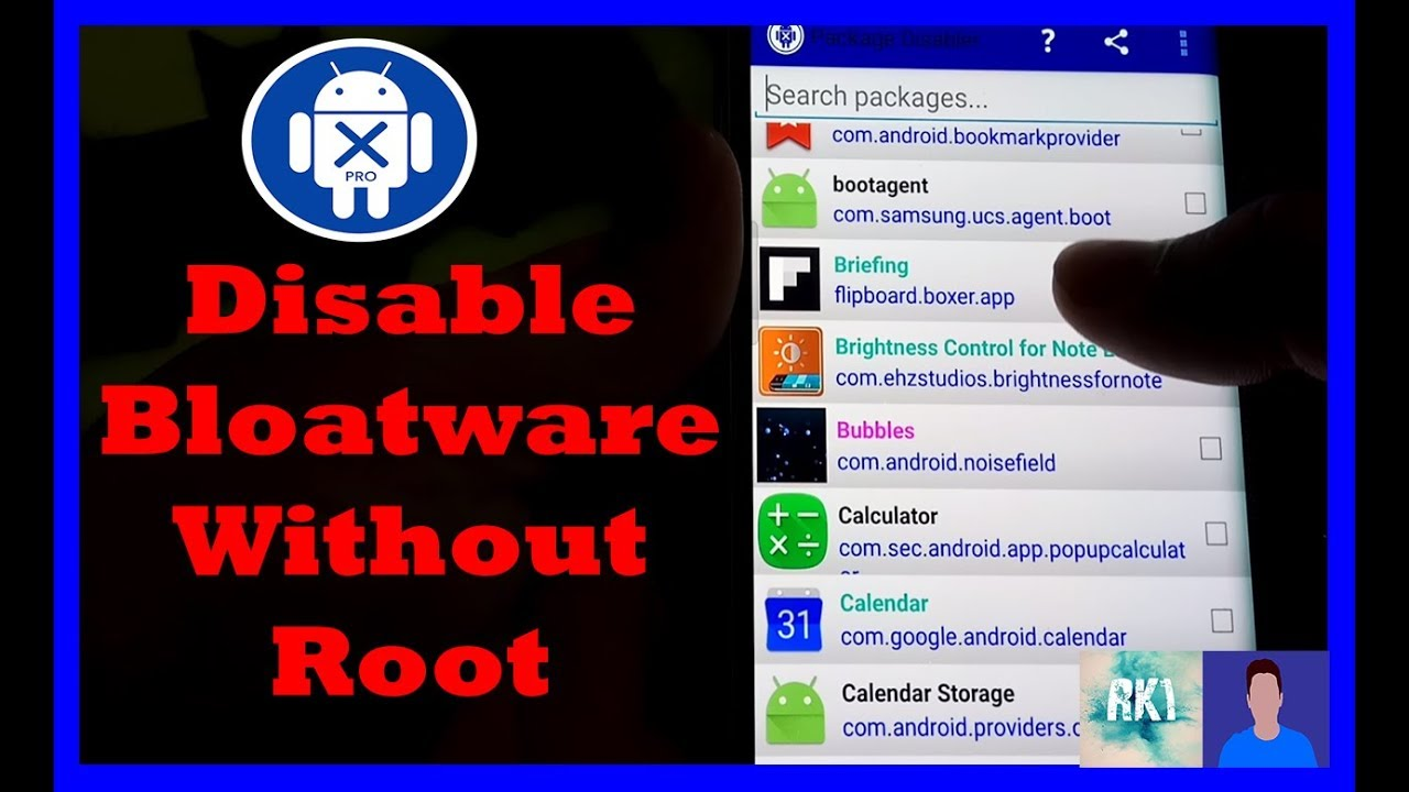 How to Disable Bloatware Without ROOT!!!