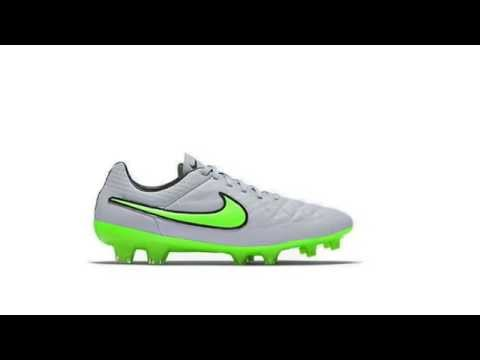 NIKE TIEMPO LEGEND V - WOLF GREY / GREEN STRIKE / BLACK
