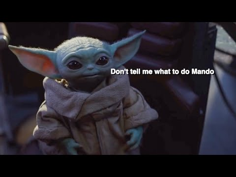 Baby Yoda BUT With Subtitles