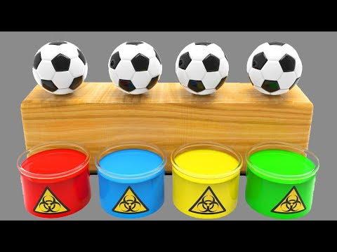 Invatam Culorile Cu Mingi De Fotbal Pentru Copii | BebeTV.ro