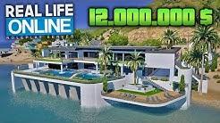 Die 12.000.000 $ HAUS TOUR - GTA 5 Real Life Online