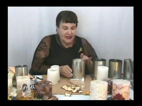 Gaby beltran velas decorativas fragmento youtube - Fotos de chimeneas decorativas ...