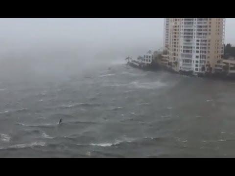 Hurricane IRMA! Downtown Miami !