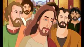 Bible stories for children - Jesus Heals a Man Born Blind ( Kids Cartoon Animation in English )