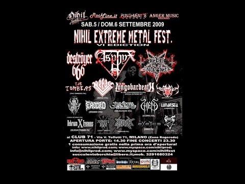 Gort - Nihil Extreme Metal Fest (Live in Milan 06/09/09)