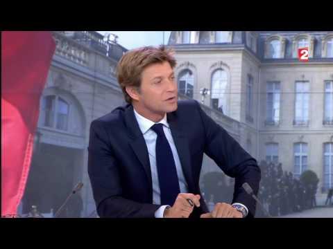 E. Macron invité de 20h de FRANCE 2