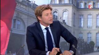 Interview d'Emmanuel Macron par Laurent Delahousse au JT de 20H | France 2
