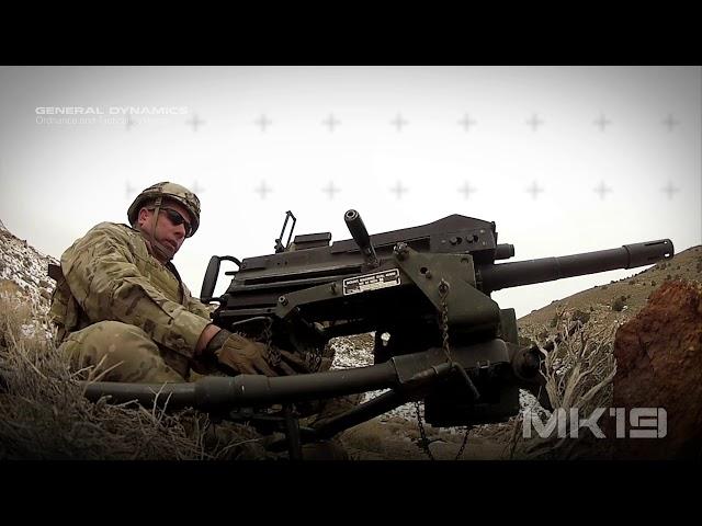40mm MK19 Mod 3 Advanced Grenade Launcher