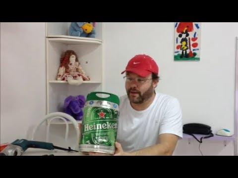 TUTORIAL: Como Recarregar o Barril de Cerveja da Heineken