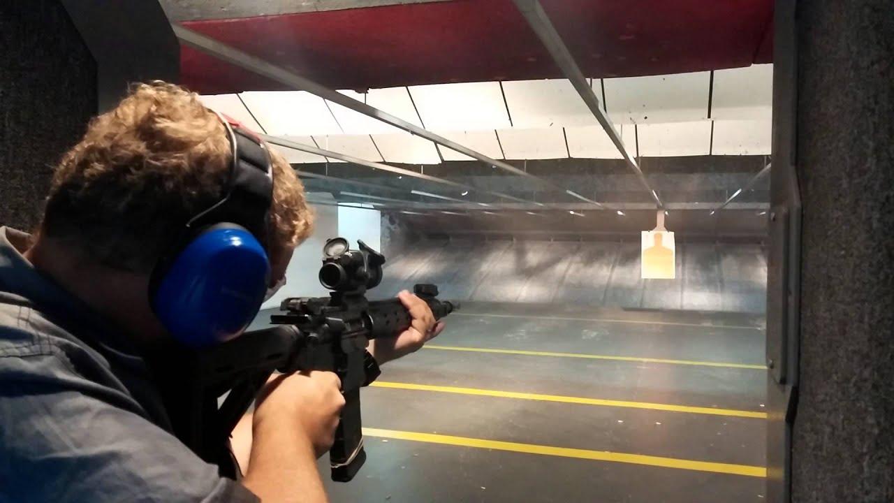Shooting an M4 in Las Vegas
