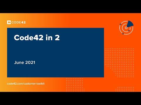 June 2021: Code42 in 2
