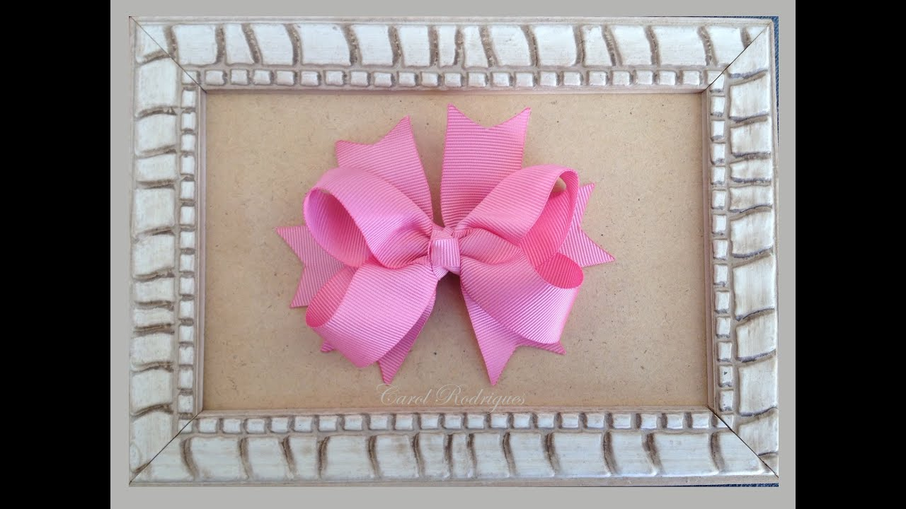 how to make a boutique bow