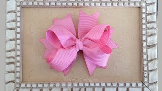 Laço boutique com Spike de fitas – How to make a Boutique Bow