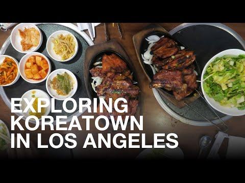 Exploring Koreatown in Los Angeles