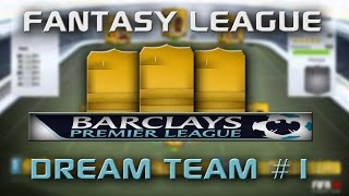 Fifa 14 - Fantasy League Dream Team - Week 1 Thumbnail