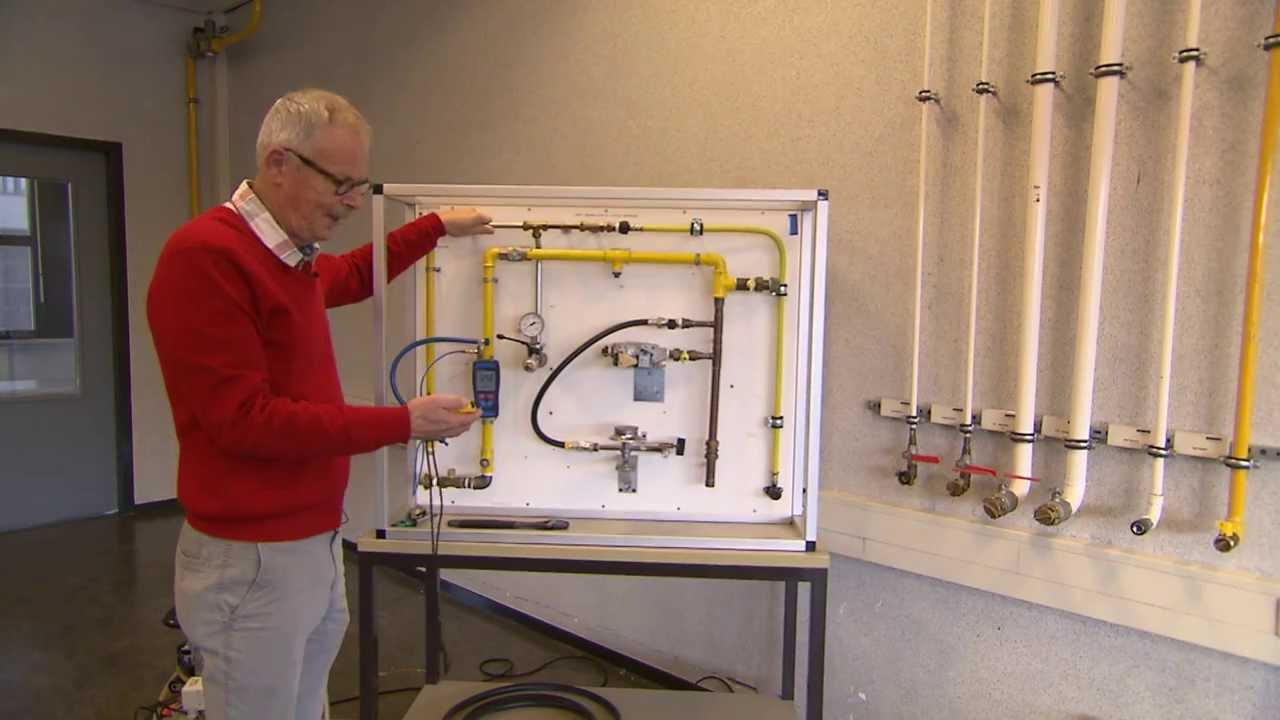 Ongekend Beproeven van een nieuw aangelegde gasleiding met een TD-54