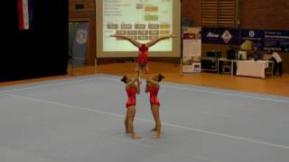 Sachsenpokal 2016   018   073   Women's Group   Age Group   Dynamic   GER   TV Uhingen GER, Ina Hohl