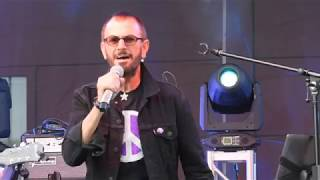 """Ringo Starr """"We're On The Road Again"""" & """"Matchbox"""" Performed LIVE by Ringer Star"""
