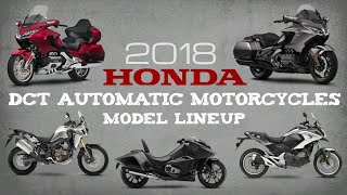 2018 Honda DCT Automatic Motorcycles | Model Lineup Overview (USA)
