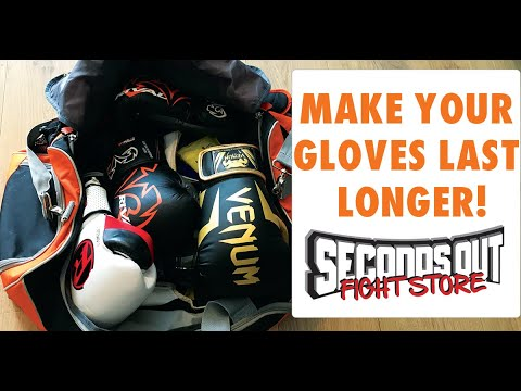 6 Ways to Make your Boxing Gloves Last Longer