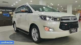 Download Video Toyota Innova Crysta 2.8 ZX 2019 | Innova 2019 ZX Features | Interior & Exterior | Real-life Review MP3 3GP MP4