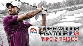 How to Draw & Fade - Tiger Woods PGA TOUR 13 Tips & Tricks