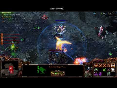 Starcraft 2 Arcade Map Random Base Defender 4.5 (Joint Operations Win)