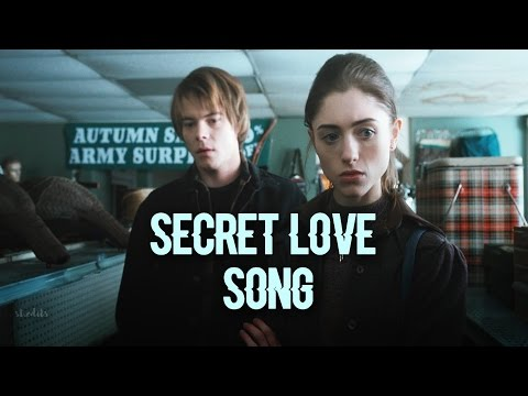 Jonathan & Nancy ✘ Secret Love Song  (stranger things)