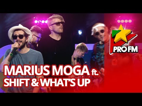 Marius Moga - Ma Doare la Bass (feat. Shift & What's Up) | ProFM LIVE Session