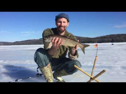 Ice Fishing In The Adirondacks