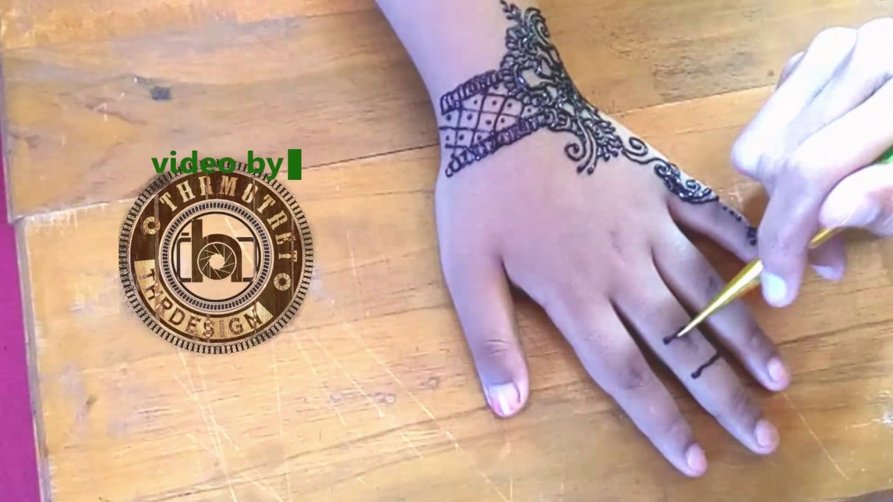 Henna Ied Mehndi Untuk Anak Simpel Mudah Dan Cocok Untuk Hari Raya