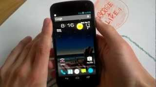 AndroidCustomz #2 Apex Flat Theme, Live Wallpaper, Zedge App