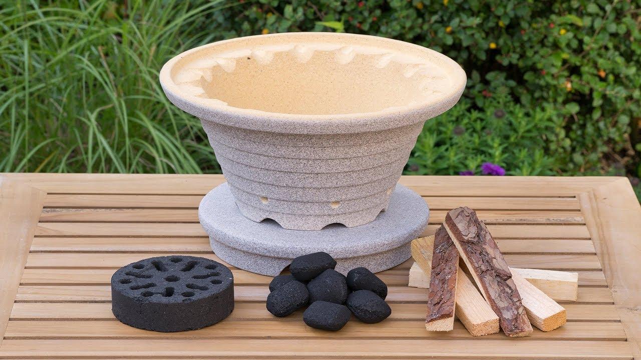 bratfeuer der blitzschnelle outdoor herd denk keramik youtube. Black Bedroom Furniture Sets. Home Design Ideas