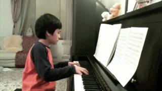 Think of Me - piano solo by William Chiu with iPhone 3GS