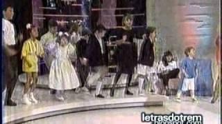 Trem da Alegria cantando na Hebe (pout porri) - 1988